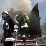 Brandübungscontainer