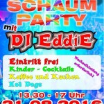 Kinder - Schaumparty 2016